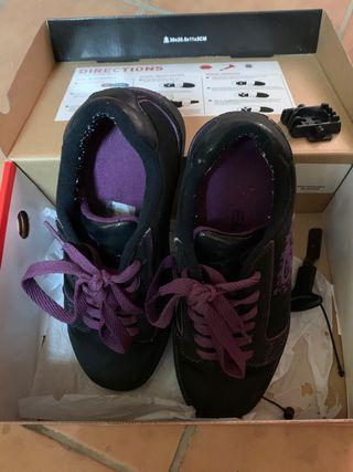 Zapatillas Heelys niña talla 34