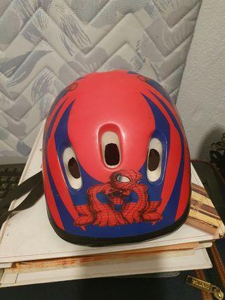 Casco spiderman