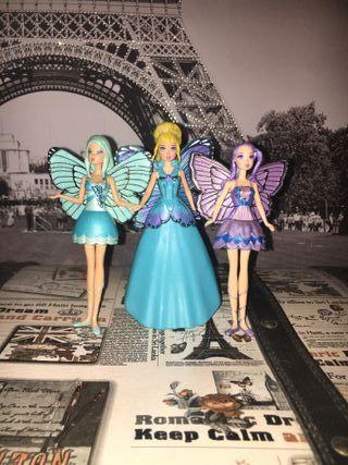Figuritas de Barbie Mariposa