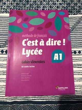 Cahier Francés 1 Bach