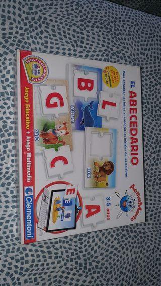 juego abecedario