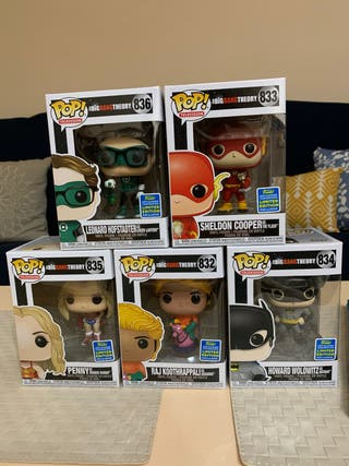 Funko pop Big Bang Theory