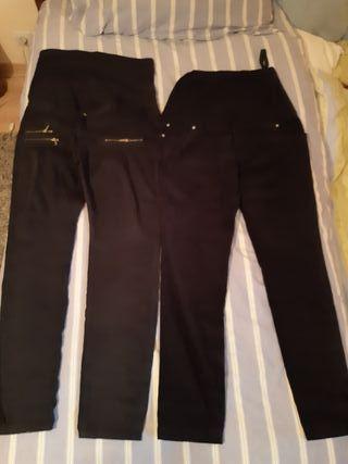 Lote pantalones de premama
