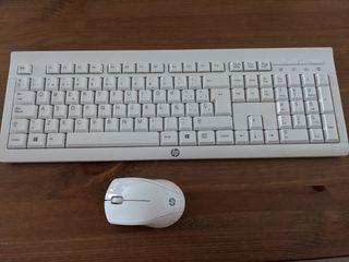 Teclado + ratón HP inalámbricos K2B