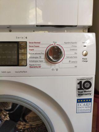 lavadora secadora Bosch serie 6