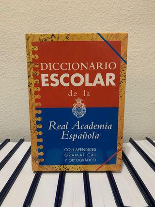 Diccionario escolar Real Academia Española.