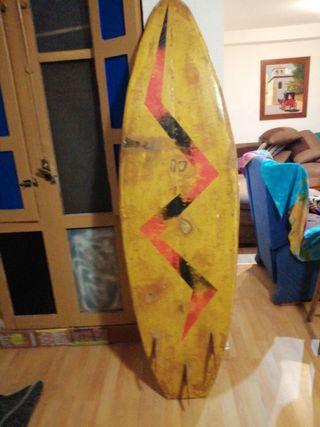 tabla de surf de más de 25 años