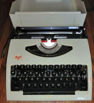 Máquina de escribir Basic
