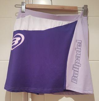 Falda pantalon padel y tenis Bullpadel L