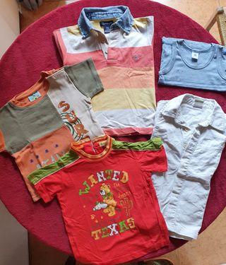 Lote 5 camisetas 3 años ( Gant)
