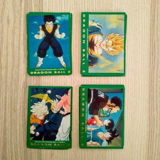 Cartas Dragon Ball Z Serie Verde