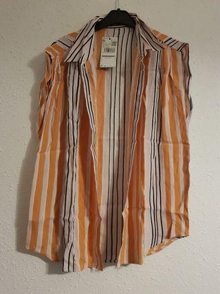 camisa mango nueva