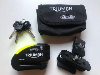 Pinza disco con alarma Artago Triumph