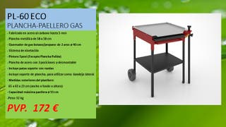 PLANCHA-PAELLERO DE GAS