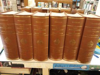 DICCIONARIO DE LEGISLACIÓN ARANZADI (40 tomos)