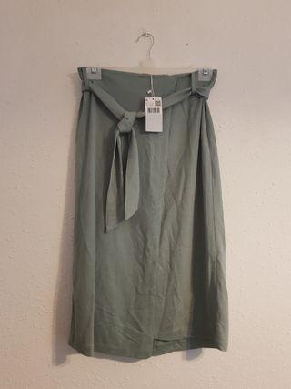 falda mango nueva