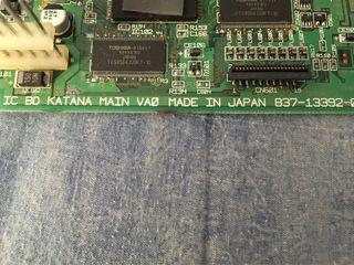 Placa motherboard dreamcast japonesa