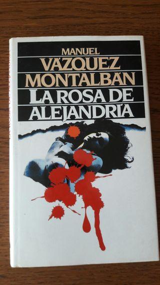 la rosa de Alejandria de Vázquez Montalban