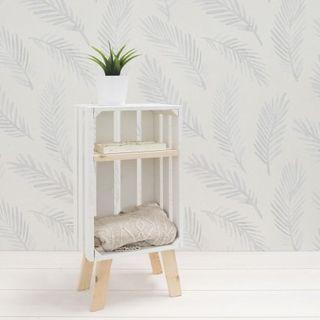Mesita madera con estante (NUEVA)