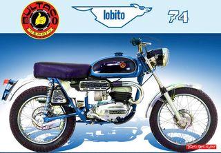 Despiece Bultaco Lobito 100 AZUL