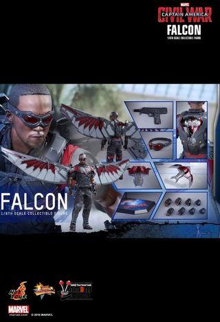 falcon civil war hot toys