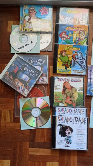 CDs de Música y Cuentos infantiles