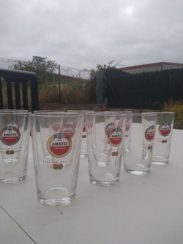 Vasos caña Amstel