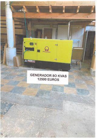GENERADOR PRAMAC 80 kVA