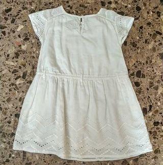 vestido marca Gocco talla de 4/5 años