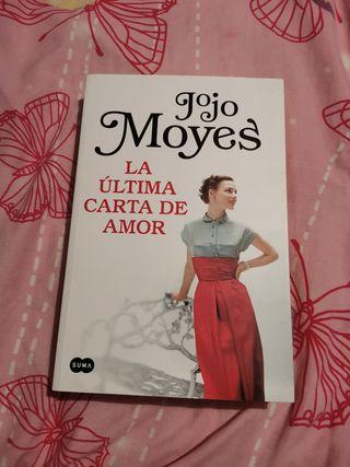 Libro la última carta de amor Jojo Moyes