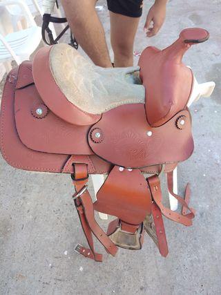 silla para poni