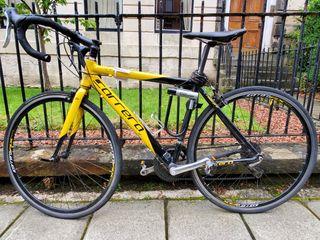 Carrera road bike and accessory equipment