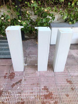 3 cajones de persiana de seguridad