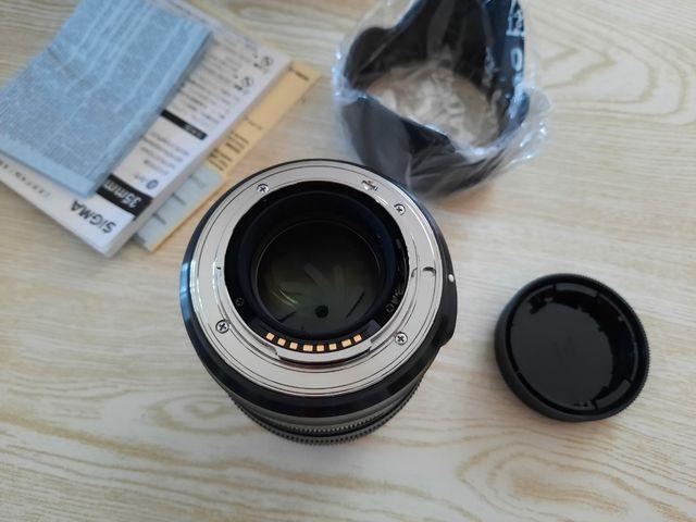 Sigma 35mm f1.4 DG HSM ART para Sony A