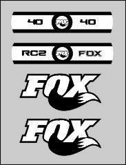 kit pegatinas horquilla fox 49 rc2
