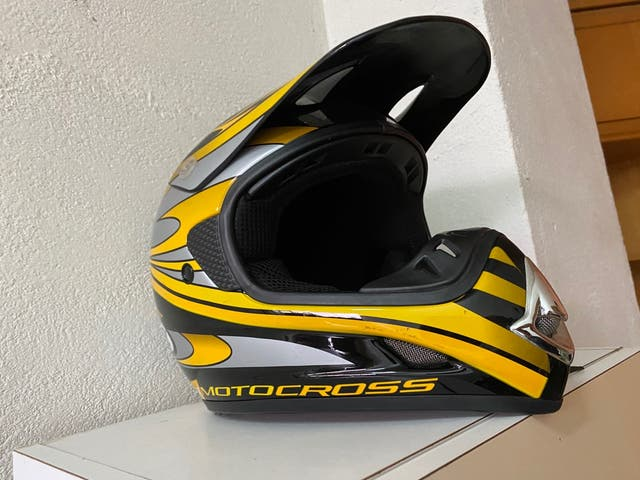 Casco moto cross S/M