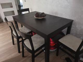 mesa comedor 6-12 px extensible con sillas