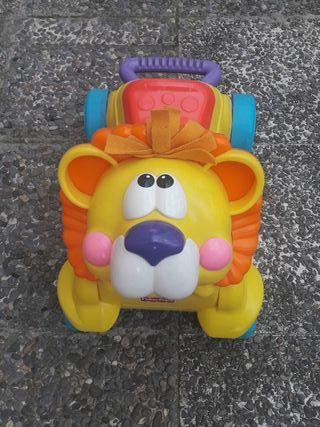 Correpasillos leon para bebes