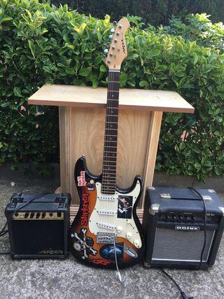 Guitarra y extras