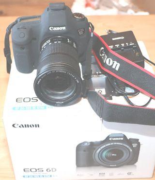 Canon 6D kit + objetivo