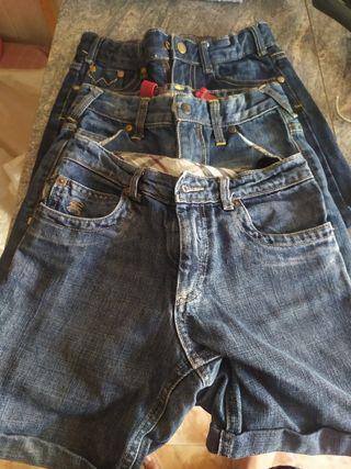 3 pantalones de niño