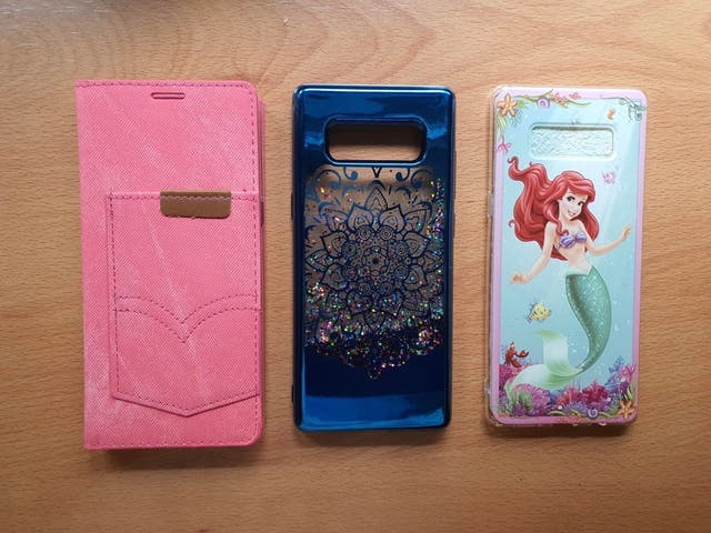3 Fundas Samsung Galaxy Note 8 Nuevas