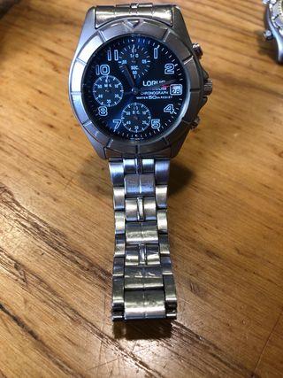 Reloj lorus titanium v657-x007