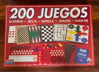 """Set """"200 juegos de mesa"""" nuevo sin abrir"""