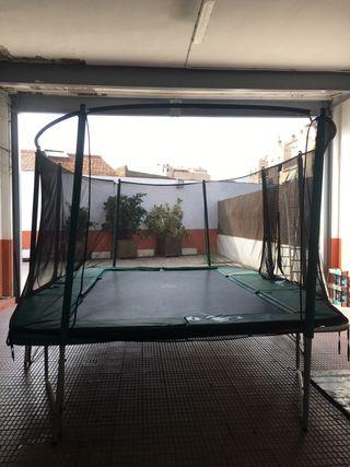 Cama elástica XXL (trampolin france)