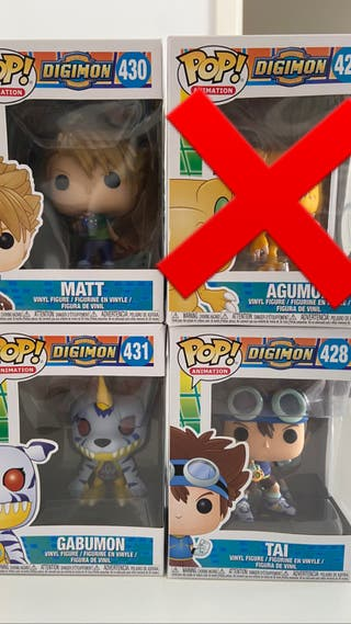 Funko pop Digimon Pack