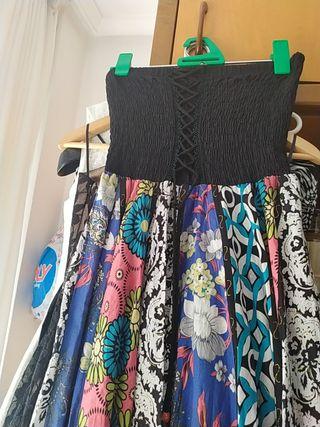 vestido y falda