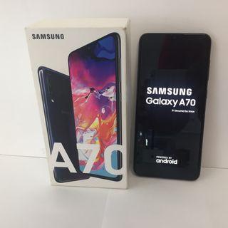 SAMSUNG GALAXY A70 128GB 6RAM BLACK