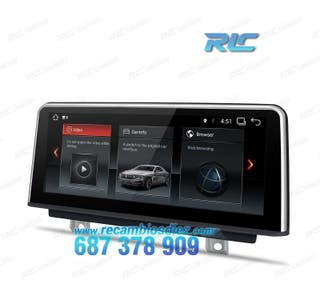 """RADIO GPS BMW 10,25"""" TÁCTIL ANDROID CANBUS"""
