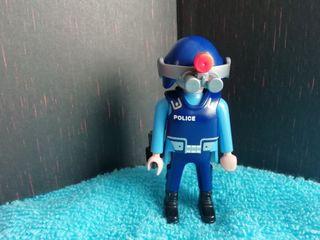 Figura Playmobil. Policía S.W.A.T.